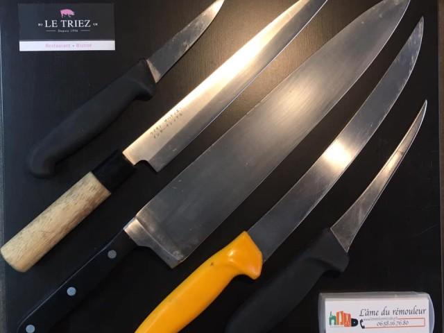 Le Triez Affûtage des couteaux, l'âme du rémouleur, restaurant, mouvaux, le triez, hauts de france