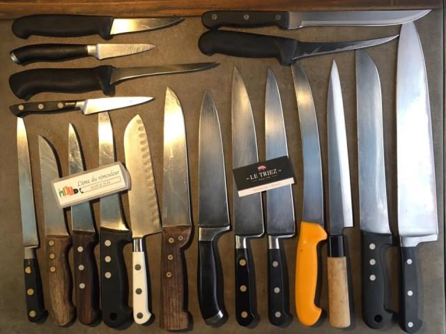 Le Triez Affûtage des couteaux / l'âme du rémouleur