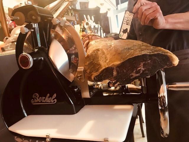 Le Triez Cecina de Galice coupée à la Berkel