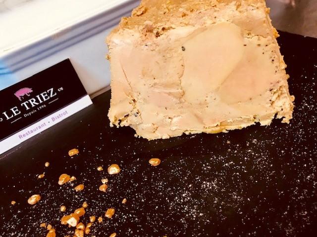 Le Triez Foie gras de Canard fait maison à emporter toute l'année, restaurant,  burger au foie gras, fait maison, alex liem