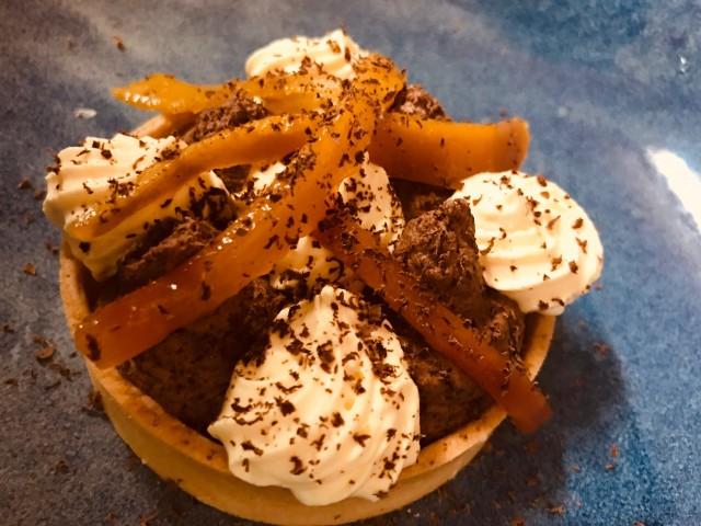 Le Triez Tartelette mangue chocolat / fait maison